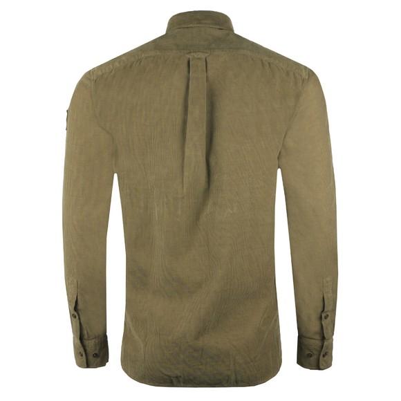 Belstaff Mens Green Pitch Corduroy Shirt main image