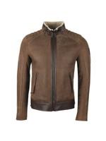 Westlake Suede Shearling Jacket