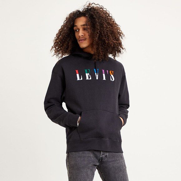 Levi's ® Mens Black Relaxed Graphic Sweatshirt