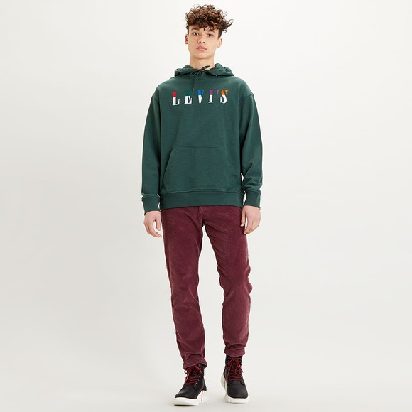 Levi's ® Mens Green Relaxed Graphic Sweatshirt main image