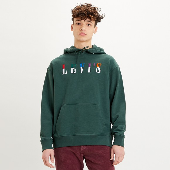 Levi's ® Mens Green Relaxed Graphic Sweatshirt