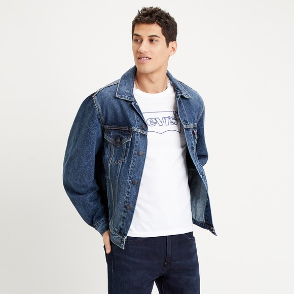 Levi's ® Mens Blue Denim Trucker Jacket