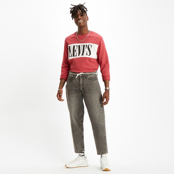 Levi's ® Mens Red Logo Colour Block Sweatshirt main image