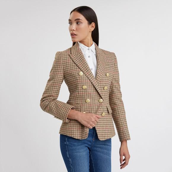 Holland Cooper Womens Beige Knightsbridge Blazer main image