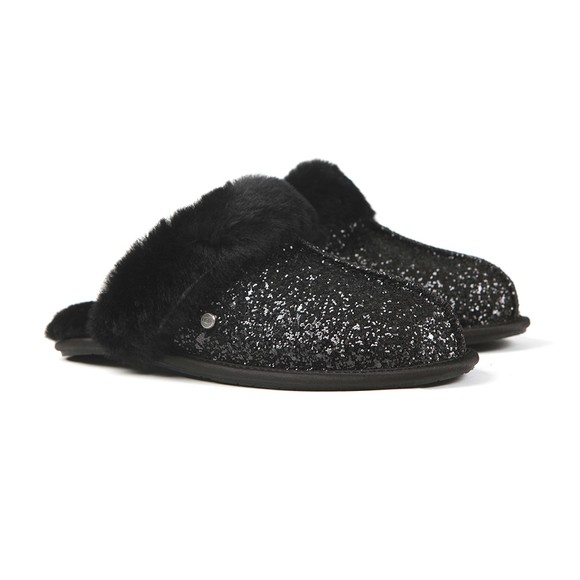 Ugg Womens Black Scuffette II Cosmos Slipper