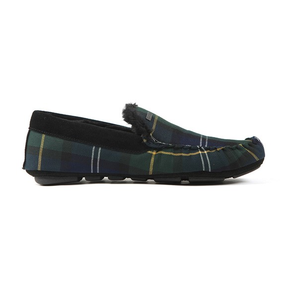 Barbour Lifestyle Mens Green Monty Slipper