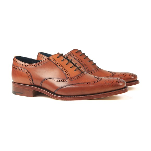 Barker Mens Antique Rosewood Johnny Shoe