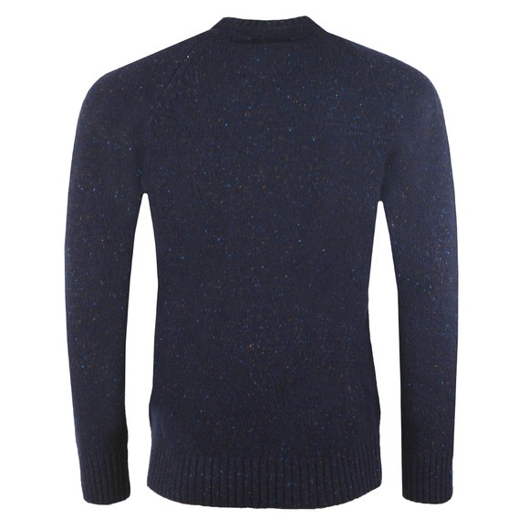 Barbour Lifestyle Mens Blue Netherton Crew Jumper main image