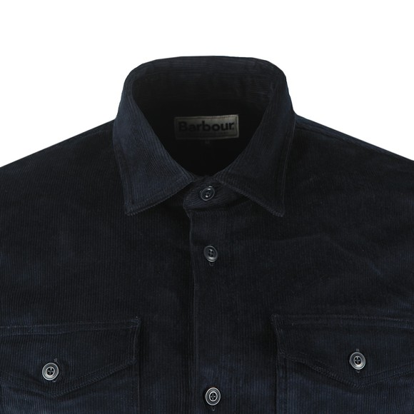 Barbour Lifestyle Mens Blue Cord OverShirt