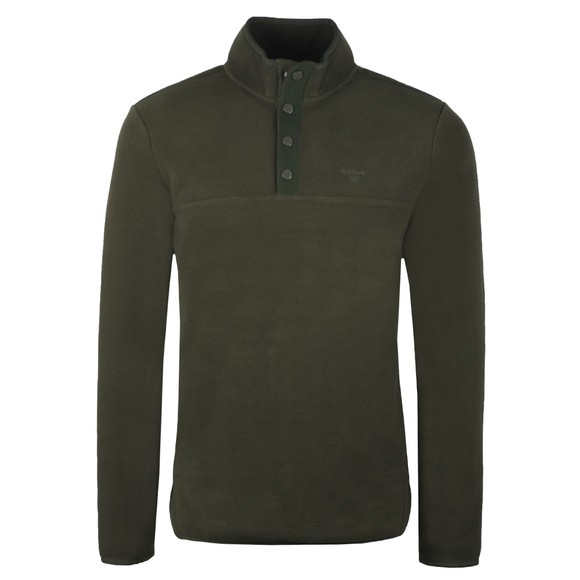 Barbour Lifestyle Mens Green 1/2 Zip Fleece main image