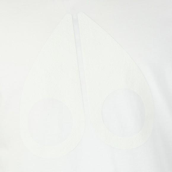 Moose Knuckles Mens White La Plante T-Shirt