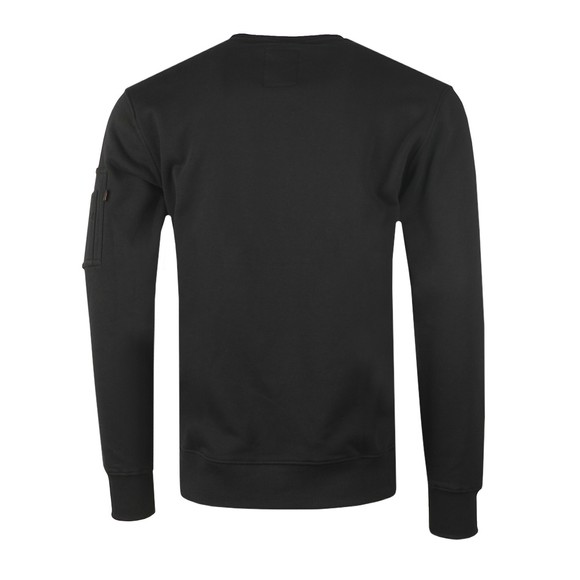 Alpha Industries Mens Black 3D Logo Sweatshirt main image