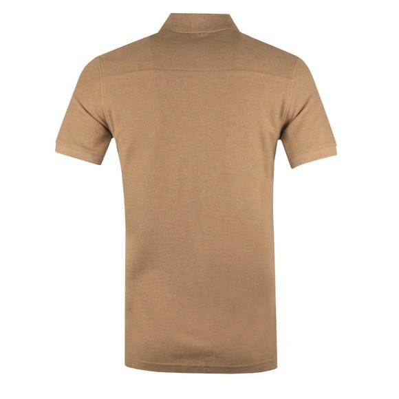 J.Lindeberg Mens Beige Troy Clean Pique Polo Shirt main image