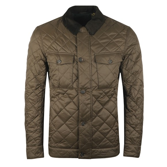Barbour Lifestyle Mens Green Maesbury Quilt Jacket