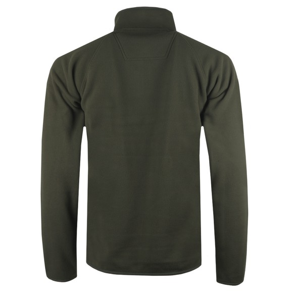 Barbour Lifestyle Mens Green Fleece Zip Through main image