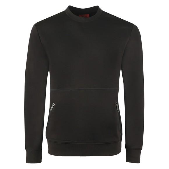 HUGO Mens Black Dokoda Sweatshirt
