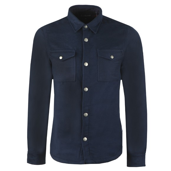 Barbour Lifestyle Mens Blue Carrbridge Overshirt