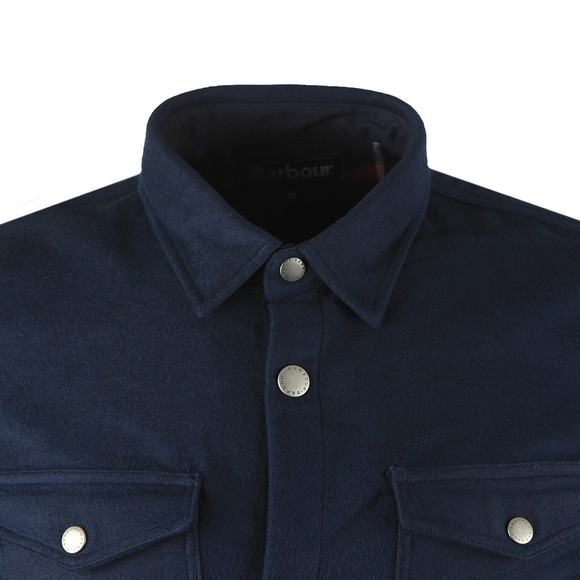 Barbour Lifestyle Mens Blue Carrbridge Overshirt main image