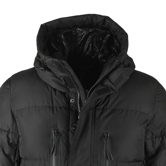 Barbour International Mens Black Bankside Quilt Jacket