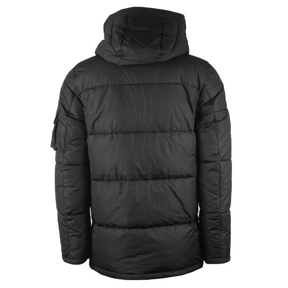 Barbour International Mens Black Bankside Quilt Jacket main image