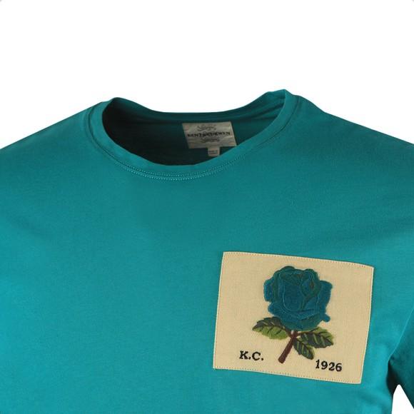 Kent & Curwen Mens Green Rose 1926 Icon T Shirt main image