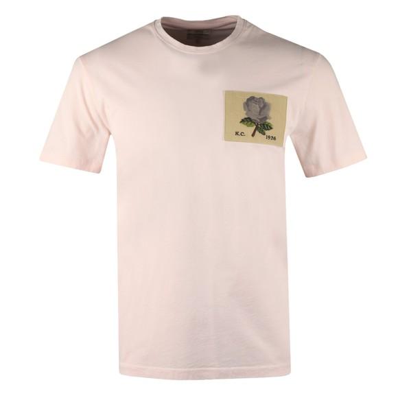Kent & Curwen Mens Pink Rose 1926 Icon T Shirt main image
