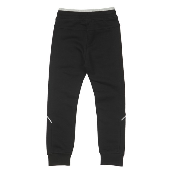 BOSS Boys Black J24J35 Logo Jogger