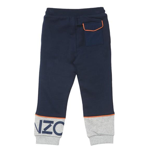 Kenzo Kids Boys Blue Logo Jogger