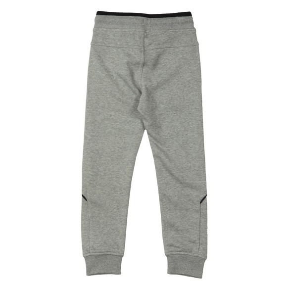 BOSS Boys Grey J24J35 Logo Jogger