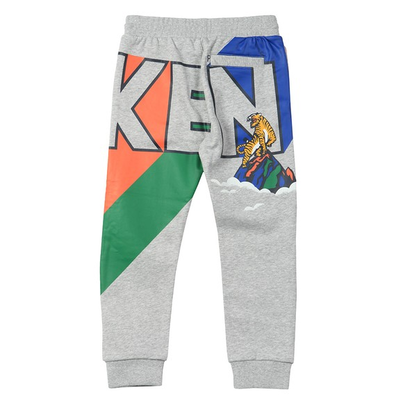Kenzo Kids Boys Grey Ventura Kenyon Jogger