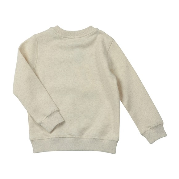 Kenzo Kids Boys Beige Sport Line Logo Crew Sweatshirt