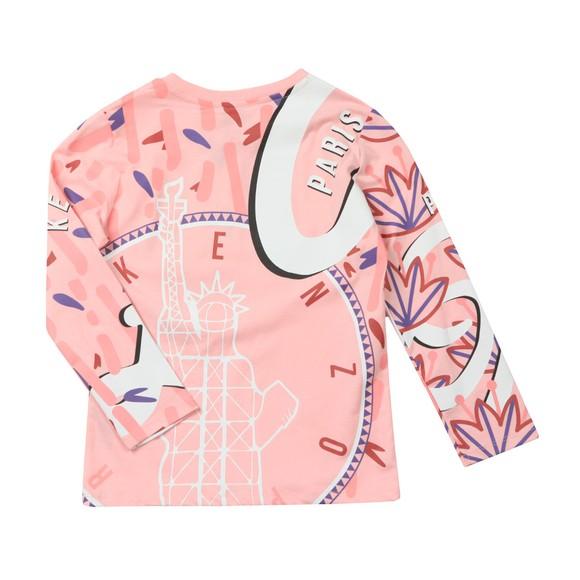 Kenzo Kids Girls Pink Karissa T-Shirt