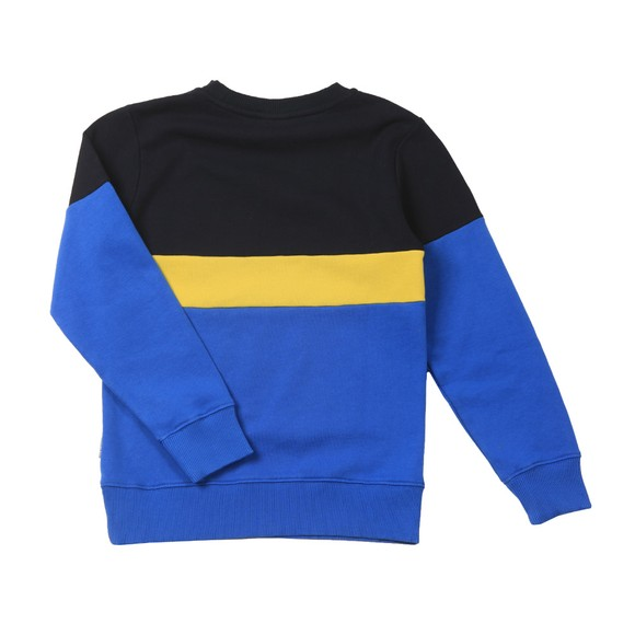 Napapijri Boys Blue Baloy Crew Sweatshirt