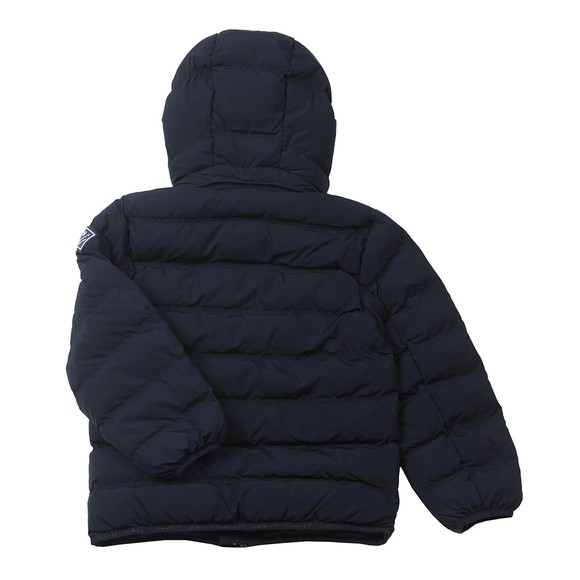 Gant Boys Blue Lock Up Puffer Jacket