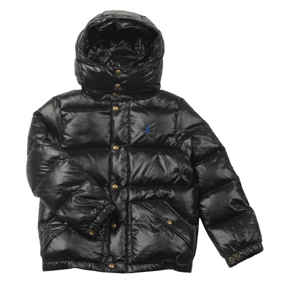 Polo Ralph Lauren Boys Black Hawthorne Puffer Jacket main image