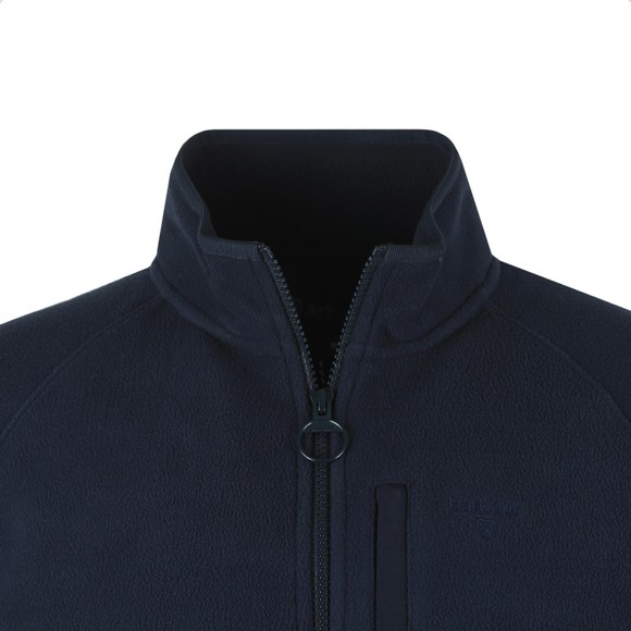 Barbour Lifestyle Mens Blue Fleece Zip Through main image