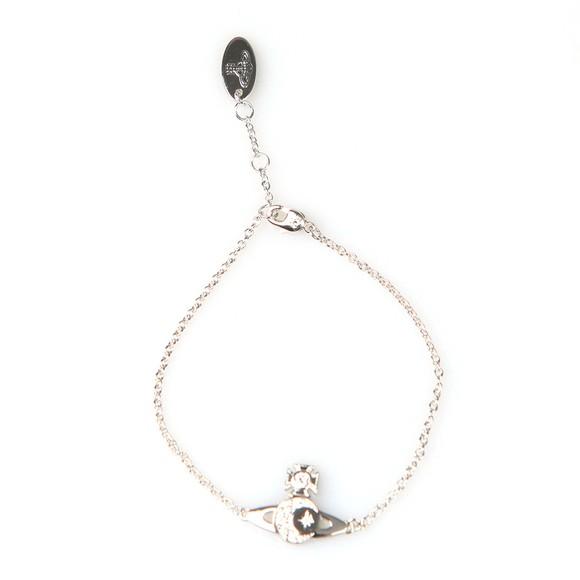 Vivienne Westwood Womens Silver Dorina Orb Bracelet