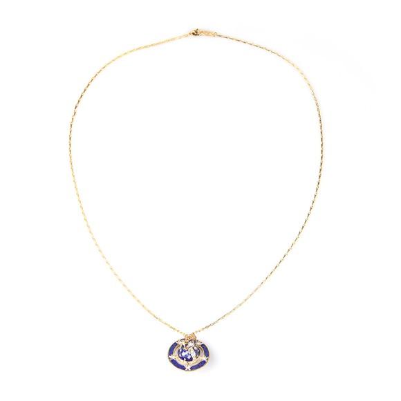 Vivienne Westwood Womens Gold Dalila Orb Pendant