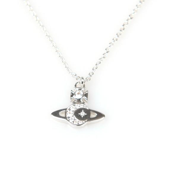 Vivienne Westwood Womens Silver Dorina Orb Pendant