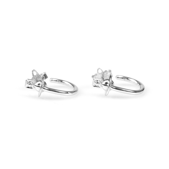 Vivienne Westwood Womens Silver Vera Earrings