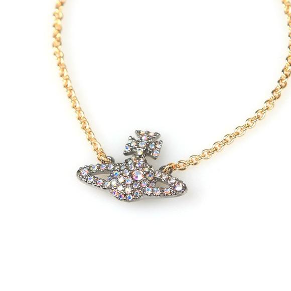 Vivienne Westwood Womens Gold Grace Bas Relief Bracelet