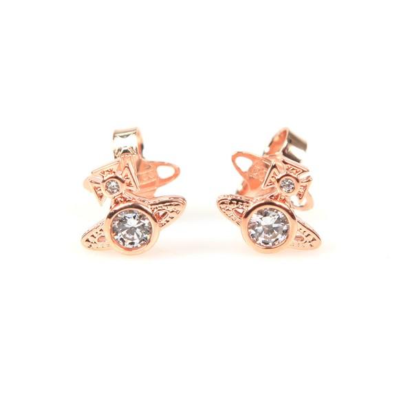 Vivienne Westwood Womens Bronze London Orb Earrings