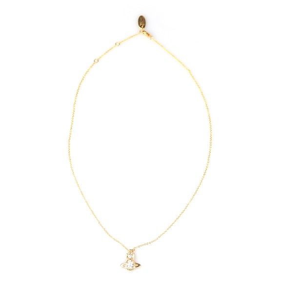 Vivienne Westwood Womens Gold Ouroboros Small Pendant main image