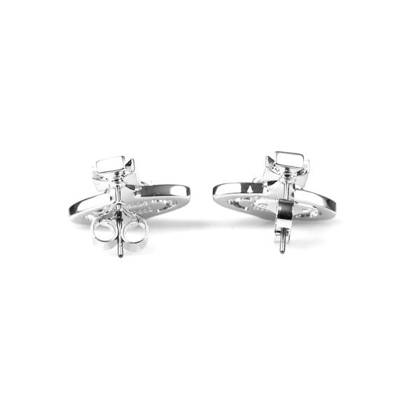 Vivienne Westwood Womens Silver Sorada Bas Relief Earring