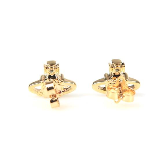 Vivienne Westwood Womens Gold/Emerald Reina Earring main image