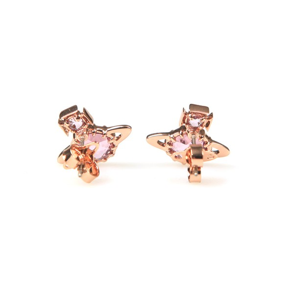 Vivienne Westwood Womens Pink Latifah Earrings
