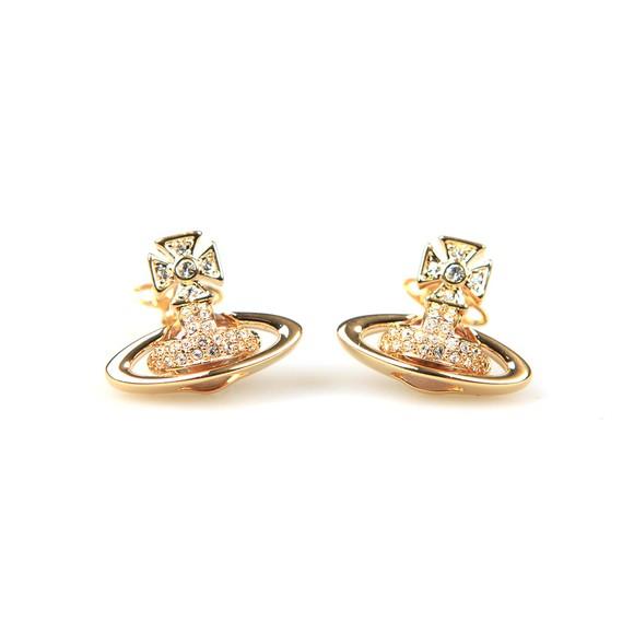Vivienne Westwood Womens Gold Sorada Bas Relief Earring