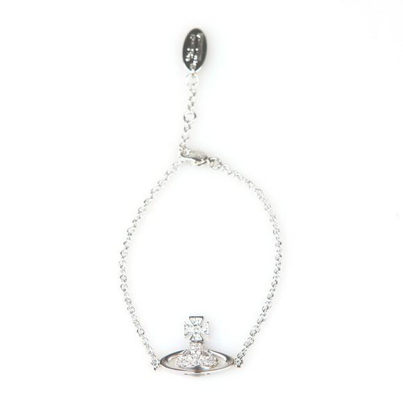 Vivienne Westwood Womens Silver Sorada Bas Relief Bracelet