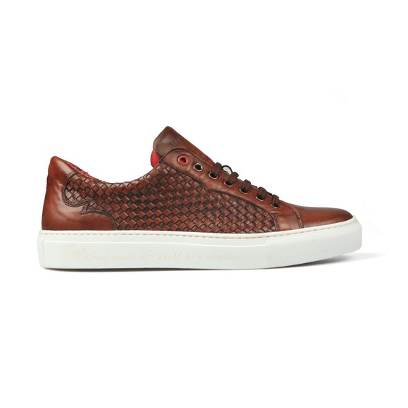Jeffery West Mens Brown Apolo Trainer main image
