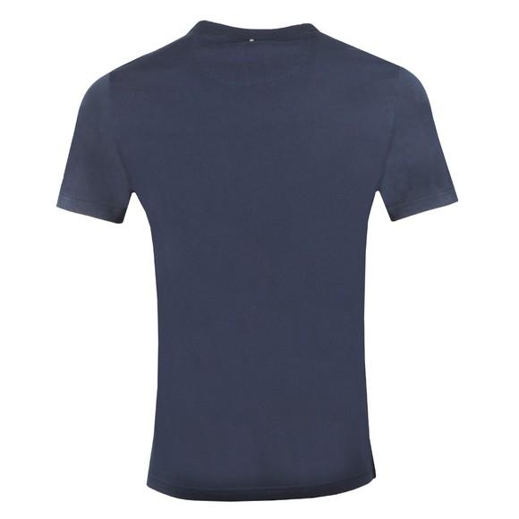 Pretty Green Mens Blue Print T-Shirt main image